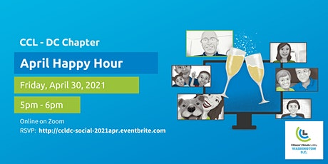 Citizens' Climate Lobby DC - April Happy Hour tickets