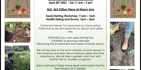 Earth Day Seed Starting Workshop tickets