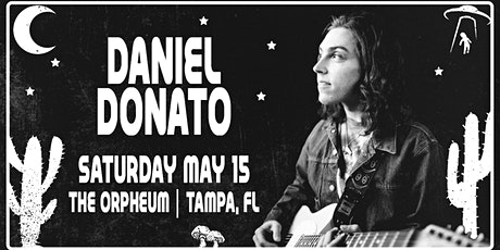 Daniel Donato, Cottondale Swamp, and Samuel Herb at the Orpheum tickets