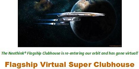 The Flagship Virtual Super Clubhouse - June 26th, 2021 tickets
