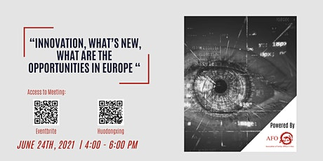 Innovation, What's new, What are the  opportunities in Europe tickets