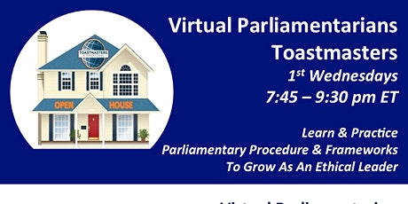 Virtual Parliamentarians Meeting tickets
