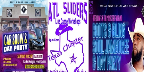 BOOTS & BLING JAMBOREE/CAR SHOW/DAY PARTY/LINEDANCE WORKSHOP/CONCERT tickets