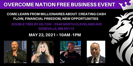 Overcome Nation Business Event Roseville, MN tickets