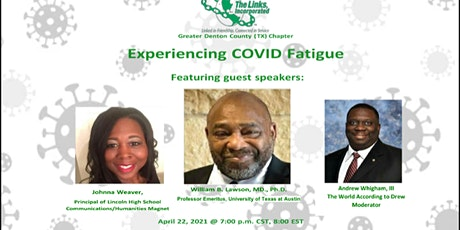Experiencing COVID-19  Fatigue: How to Weather the Storm tickets