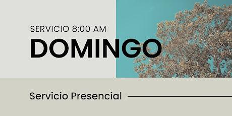 Reunión Domingo 8:00AM boletos