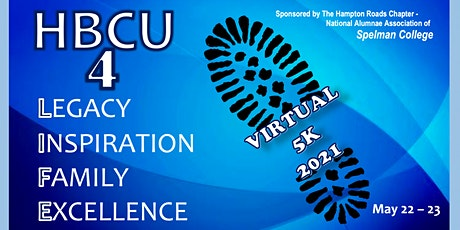 Virtual 5K - HBCU 4 LIFE tickets