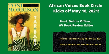 African Voices Book Circle tickets