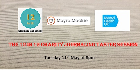 12 in 12 Charity Journaling Taster session with Moyra Mackie tickets