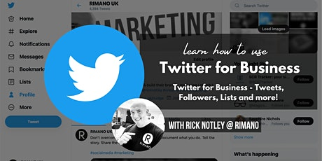 Twitter for Business - Tweets, Followers, Lists and more! tickets