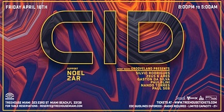 CID @ Treehouse Miami tickets