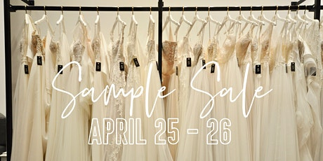The Bridal Gallery's Spring Sample Sale tickets