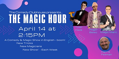 The Magic Hour - English Comedy & Magic in Barcelona tickets
