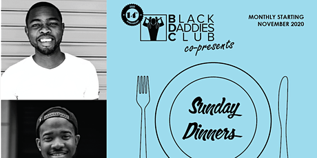 Sunday Dinners: Monthly online gatherings for Black men (April 2021) tickets