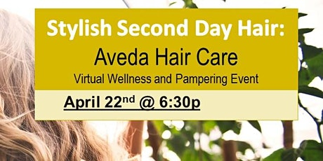 Stylish Second Day Hair Virtual Event FREE sample box tickets