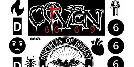 COVEN with Disciple of Dissent Live at Tony V's tickets