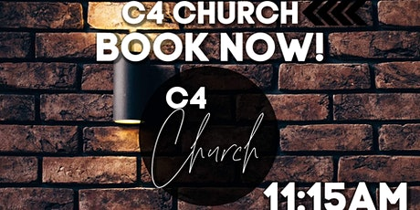 C4 Church In-Person Service 18/04/21 tickets