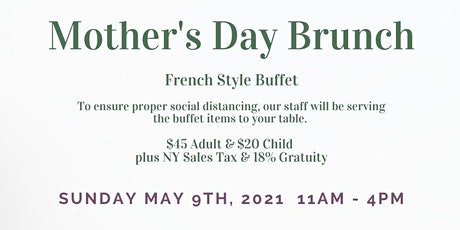 Mother's Day Brunch tickets
