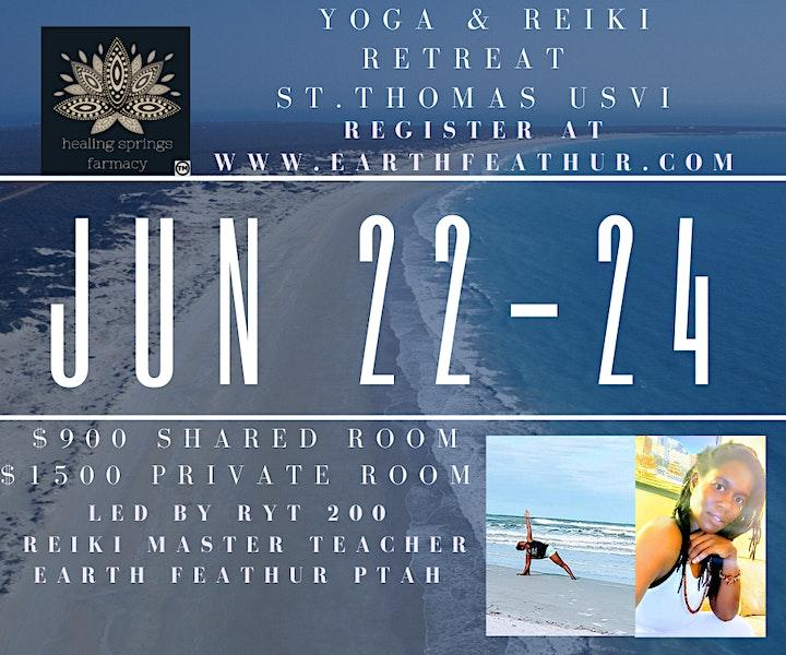 Yoga & Reiki Retreat (St.Thomas, USVI) image