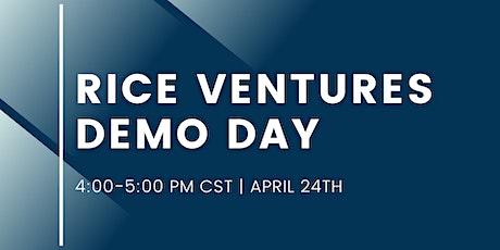 Rice Ventures Demo Day tickets