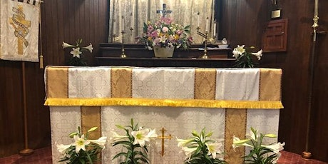 In person 8am Eucharist tickets