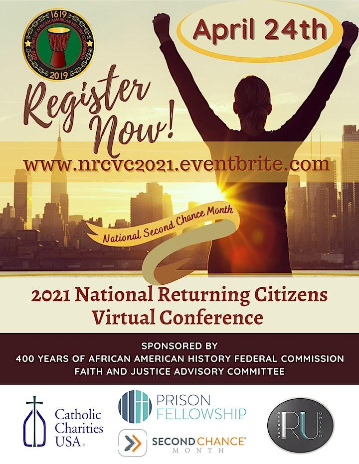 National Returning Citizens Virtual Conference - NRCVC 2021 image