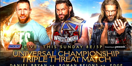 LIVE@!.MaTch WrestleMania 37 Fight LIVE ON fReE 2021 tickets