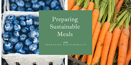 Preparing Sustainable Meals tickets
