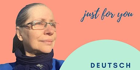 Kostenfreier Workshop - Deutsch entspannt lernen und sprechen Tickets