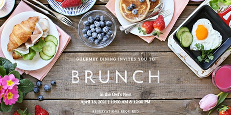 BRUNCH  in the Owl's Nest - 10:00 AM Reservations tickets