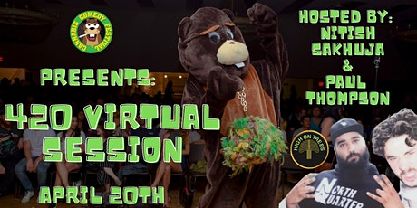 Cannabis Comedy Festival Presents: 420 Virtual Session Party tickets