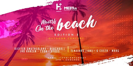 MeetUs On the Beach (Edition 3) tickets