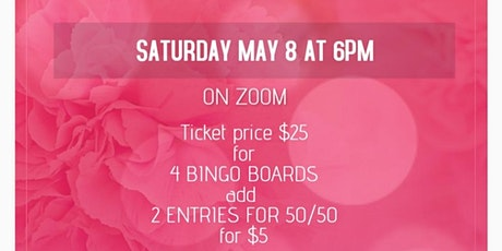 MOTHER'S DAY BINGO tickets