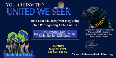 United We Seek - Electronic Detection K9s tickets
