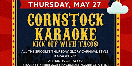 Cornstock Karaoke Kick-off tickets