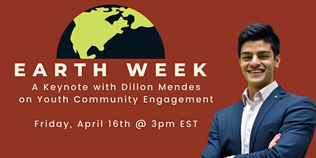 Afternoon Tea With Dillon Mendes: A Keynote on Youth Community Engagement tickets