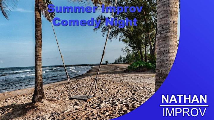 Summer Improv Comedy Night image