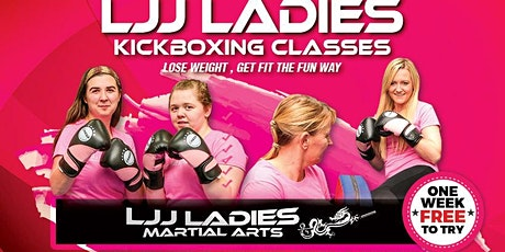 Ladies Only Kickboxing (13+yrs) 7:30 and/or 8:30 tickets