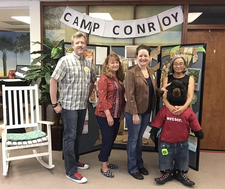 Camp Conroy 2021 (Summer Camp for Young Writers & Artists, ages 8-14) image