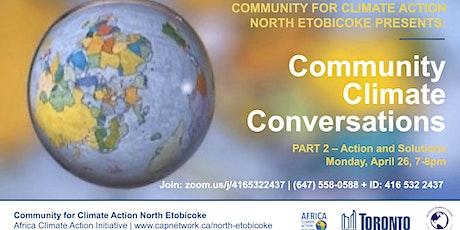 Community Climate Conversations: Part 2 tickets