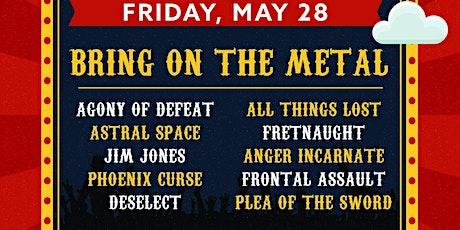 Cornstock Metal Friday tickets
