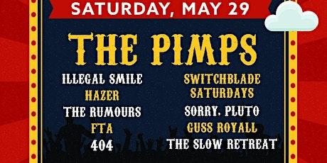 The Pimps - Cornstock Music Festival Day Three tickets