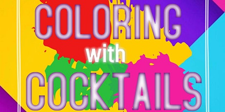 Coloring with Cocktails tickets