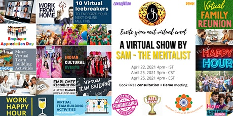 A Virtual Show - Consultation + Demo meeting tickets