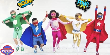 Super Special Heroes party tickets