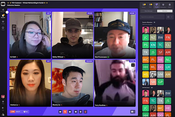 TES Connect - Virtual Entrepreneur Networking and Social #4 image