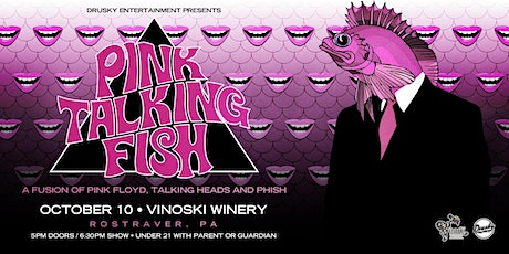 Pink Talking Fish - A Fusion of Pink Floyd, Talking Heads, and Phish tickets