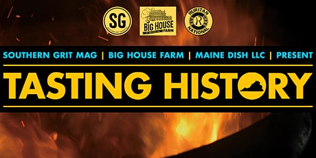 TASTING HISTORY: A BBQ Pick Up & Live Stream Cook tickets