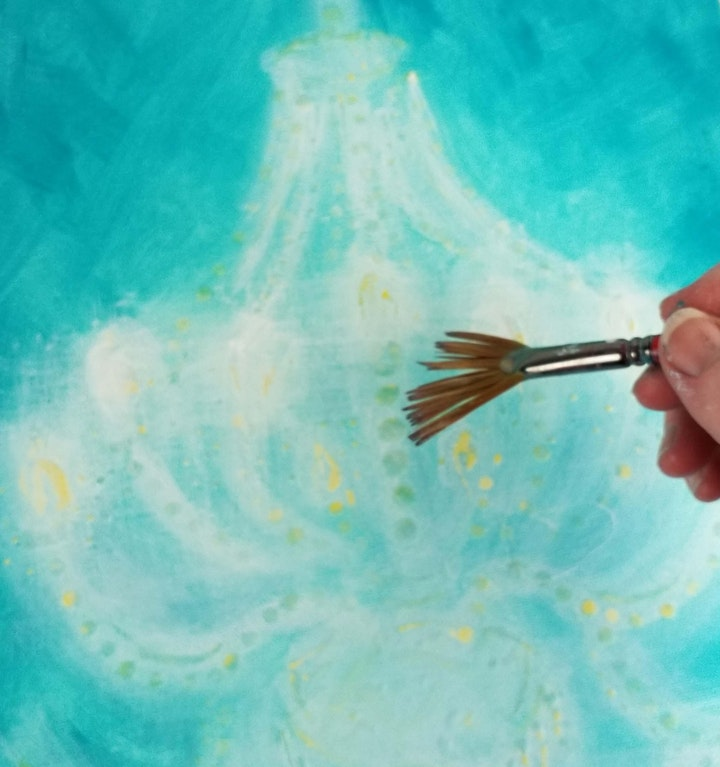 Paint 'Vintage Glow' Art Class with Sonia Farrell:Creative Hearts Art image