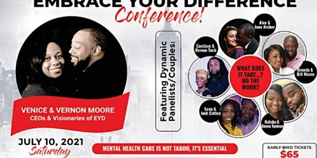 Embrace Your Difference Conference! tickets